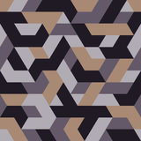 Abstrakcjonistycznego trójboka bezszwowy wzór Zdjęcie Royalty Free