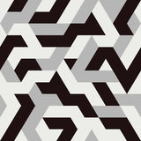 Abstrakcjonistycznego trójboka bezszwowy wzór Zdjęcie Stock