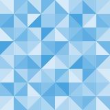 Abstrakcjonistycznego trójboka bezszwowy wzór wektor Obrazy Stock