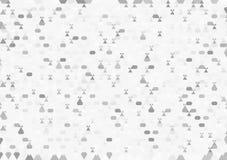 Abstrakcjonistycznego trójboka geometryczny tło royalty ilustracja