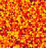 Abstrakcjonistycznego trójboka lata Geometrical Bezszwowy tło Fotografia Royalty Free