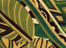 Abstrakcjonistycznego ulistnienia zielony i beżowy tło obrazy stock