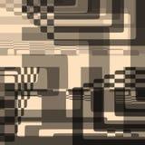 Abstrakcjonistycznego Wektorowego ilustracyjnego tła geometryczni kształty royalty ilustracja