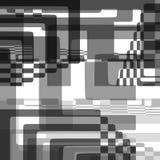 Abstrakcjonistycznego Wektorowego ilustracyjnego tła geometryczni kształty ilustracja wektor