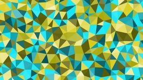 Abstrakcjonistycznego wektorowego modnego colorfull trójgraniasty wzór Nowożytny poligonalny tło ilustracji