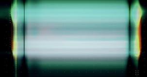 Abstrakcjonistycznego wielo- koloru usterki realistyczny parawanowy migotanie, analogowy rocznika TV sygnał z złą interferencją i royalty ilustracja