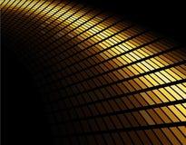 Abstrakcjonistycznego złota barwiona mozaika ilustracja wektor