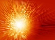 Abstrakcjonistycznego złotego tła komputerowe grafika dla projekta Zdjęcie Royalty Free