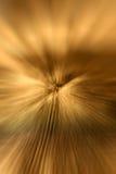 abstrakcjonistycznego złoty tła zoom Zdjęcie Royalty Free