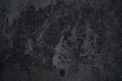 Abstrakcjonistycznego zmroku popielaty marmur z świetnymi brud cząsteczkami fotografia royalty free