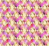 Abstrakcjonistycznej akwareli bezszwowy wzór Fotografia Stock