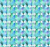 Abstrakcjonistycznej akwareli bezszwowy wzór Zdjęcie Stock