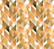 Abstrakcjonistycznej akwareli bezszwowy wzór Zdjęcie Royalty Free
