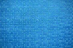 Abstrakcjonistycznej błękit ściany kwadratów linii mały tło Obrazy Stock