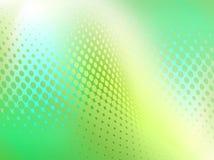 Abstrakcjonistycznej cyraneczki kropki zawijasa Błękitny tło Fotografia Stock