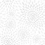 Abstrakcjonistycznej fajerwerku pluśnięcia kropki bezszwowy wzór Zawijasa płatka punktu kwiecista tekstura Zdjęcia Royalty Free
