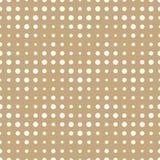 Abstrakcjonistycznej geometrii deco sztuki halftone szewronu złocisty wzór royalty ilustracja