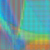 Abstrakcjonistycznej geometrycznej tęczy w kratkę tło 01 zdjęcie stock