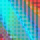 Abstrakcjonistycznej geometrycznej tęczy w kratkę tło obrazy royalty free