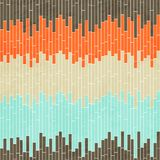 Abstrakcjonistycznej komórki bezszwowy wzór z grunge skutkiem Zdjęcia Royalty Free