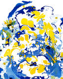 Abstrakcjonistycznej marmoryzaci kolorowy tło Obrazy Royalty Free