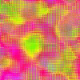 Abstrakcjonistycznej mozaiki multicolor w kratkę tło zdjęcie stock