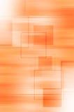 Abstrakcjonistycznej pomarańcze kreskowy i kwadratowy tło ilustracja wektor