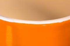 Abstrakcjonistycznej Pomarańczowej symetrii prosty kontrast Zdjęcia Royalty Free