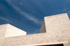 abstrakcjonistycznej sztuki budynku galerii nowożytny obywatel Obrazy Stock
