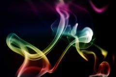 abstrakcjonistycznej sztuki dym obrazy stock