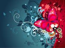 abstrakcjonistycznej sztuki hearth Zdjęcie Royalty Free