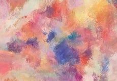 Abstrakcjonistycznej sztuki nakreślenia tekstura Kolorowe linie cyfrowo rysować struktura kolorowa nowożytna grafika abstrakcjoni Zdjęcie Stock