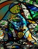 abstrakcjonistycznej sztuki nowożytny pieniądze ilustracja wektor