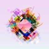 Abstrakcjonistycznej sztuki obrazek Zdjęcie Stock