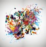 Abstrakcjonistycznej sztuki obrazek Obraz Royalty Free