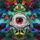 Abstrakcjonistycznej sztuki obrazek Obrazy Stock