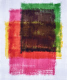 Abstrakcjonistycznej sztuki obrazu kolor zdjęcia stock