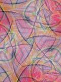 abstrakcjonistycznej sztuki różowy tło Fotografia Royalty Free