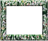 abstrakcjonistycznej sztuki rama Zdjęcie Stock