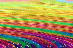 abstrakcjonistycznej sztuki tła akwarela Fotografia Royalty Free
