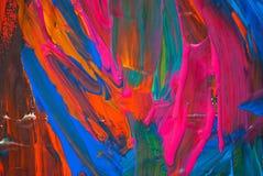 Abstrakcjonistycznej sztuki tło. Obrazy Royalty Free