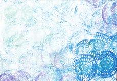 abstrakcjonistycznej sztuki tło Zdjęcia Stock