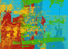 abstrakcjonistycznej sztuki tło bright Zdjęcia Stock