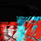 abstrakcjonistycznej sztuki tekstury Obrazy Royalty Free