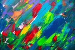 abstrakcjonistycznej sztuki tło Obrazy Royalty Free