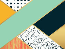 Abstrakcjonistycznej sztuki wzór Wektorowa ilustracja dla moda projekta ilustracji
