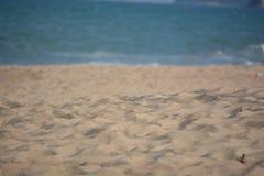 Abstrakcjonistycznej tło plaży zamazany pojęcie Zdjęcia Stock