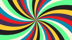 Abstrakcjonistycznej t?cza promienia tekstury ?wi?teczny t?o kolorowego t?czy t?a rocznika telewizyjny wektor eps10 ilustracji