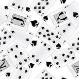 abstrakcjonistycznej tła karty bezszwowi kostiumy Zdjęcia Stock