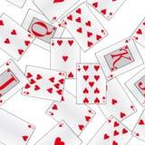 abstrakcjonistycznej tła karty bezszwowi kostiumy Obraz Royalty Free
